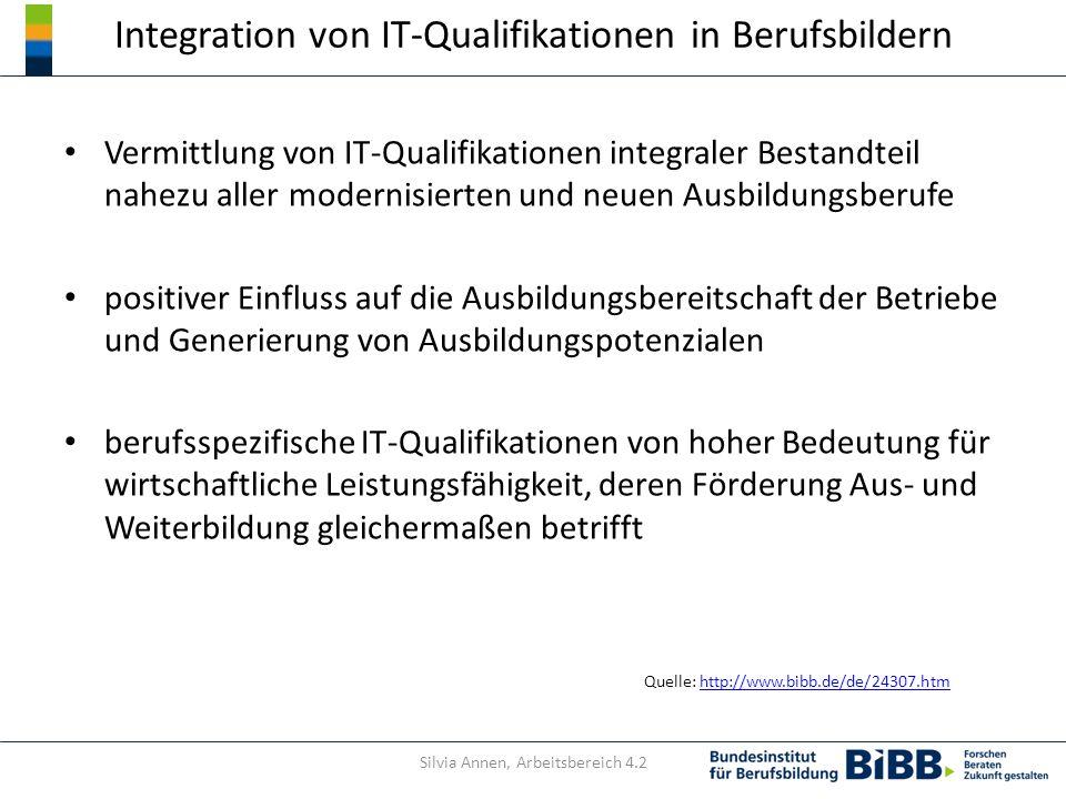 Integration von IT-Qualifikationen in Berufsbildern