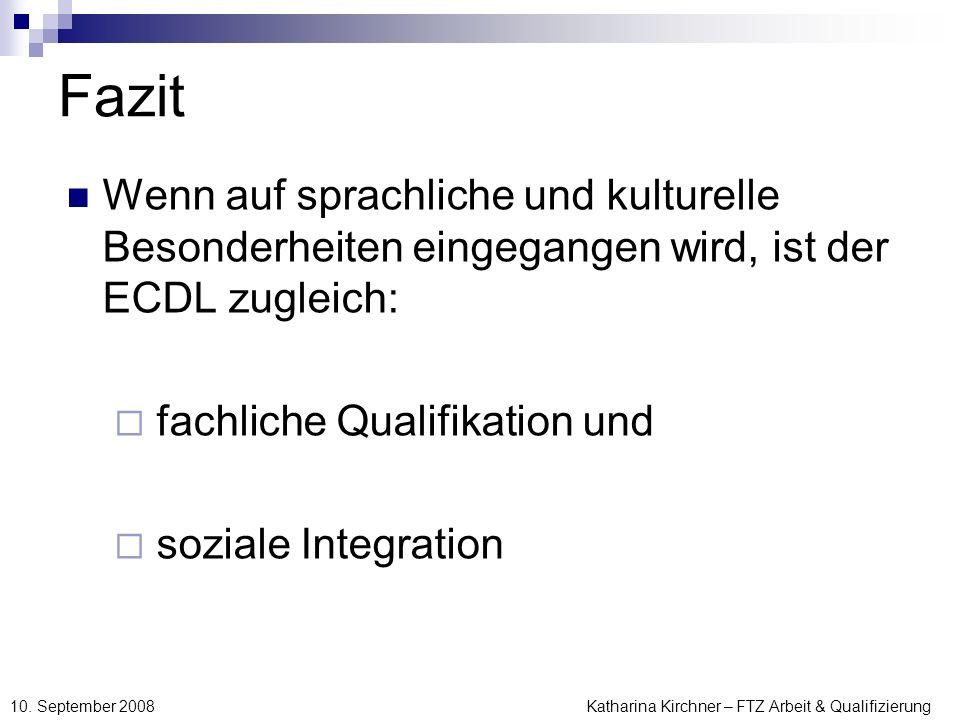 Katharina Kirchner – FTZ Arbeit & Qualifizierung