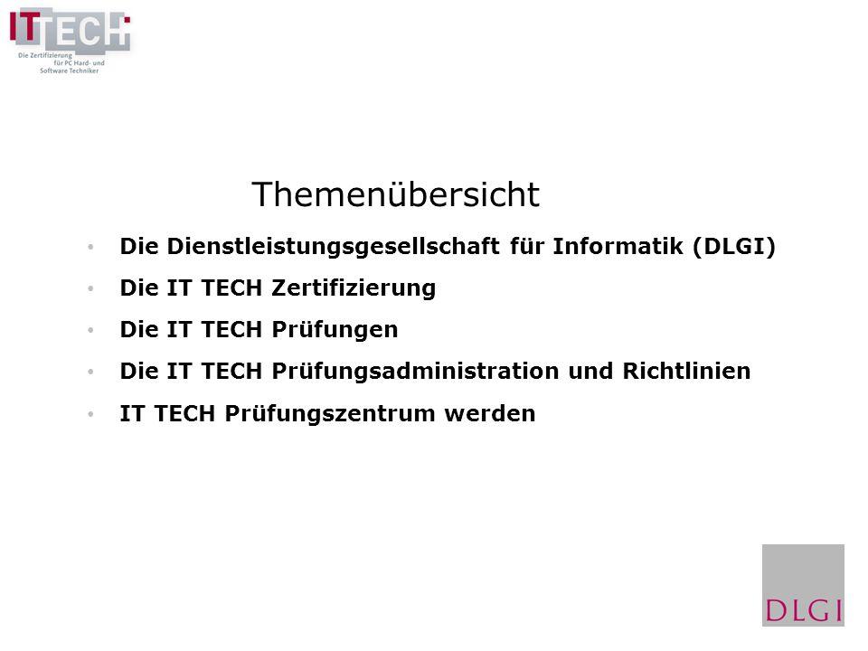Themenübersicht Die Dienstleistungsgesellschaft für Informatik (DLGI)