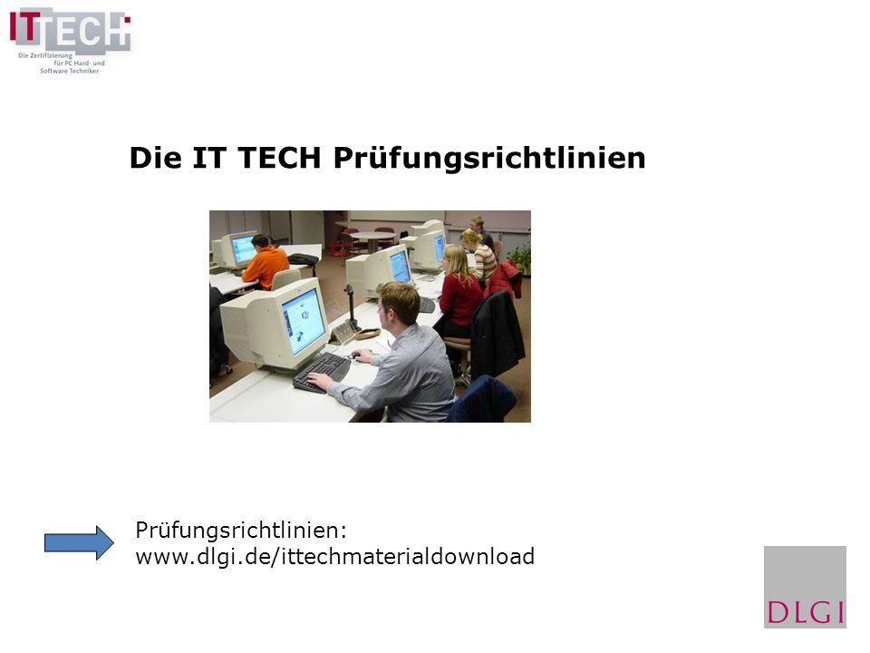 Die IT TECH Prüfungsrichtlinien