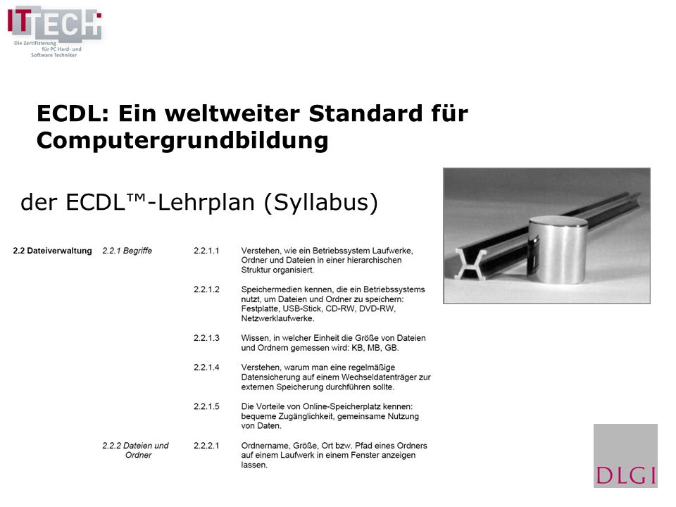 ECDL: Ein weltweiter Standard für Computergrundbildung