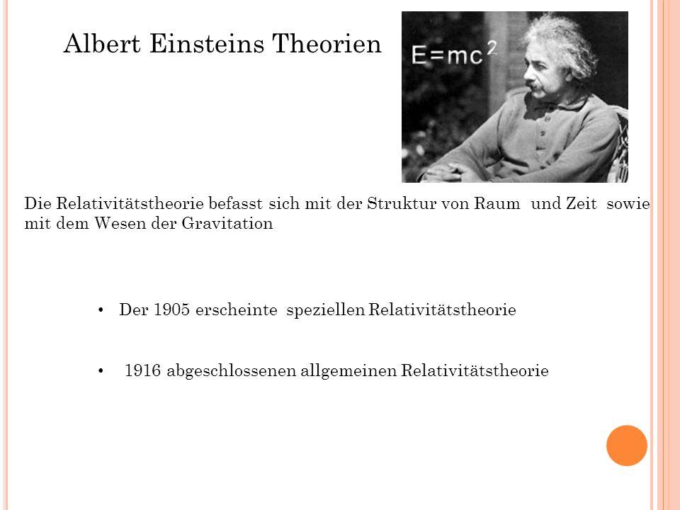 Albert Einsteins Theorien