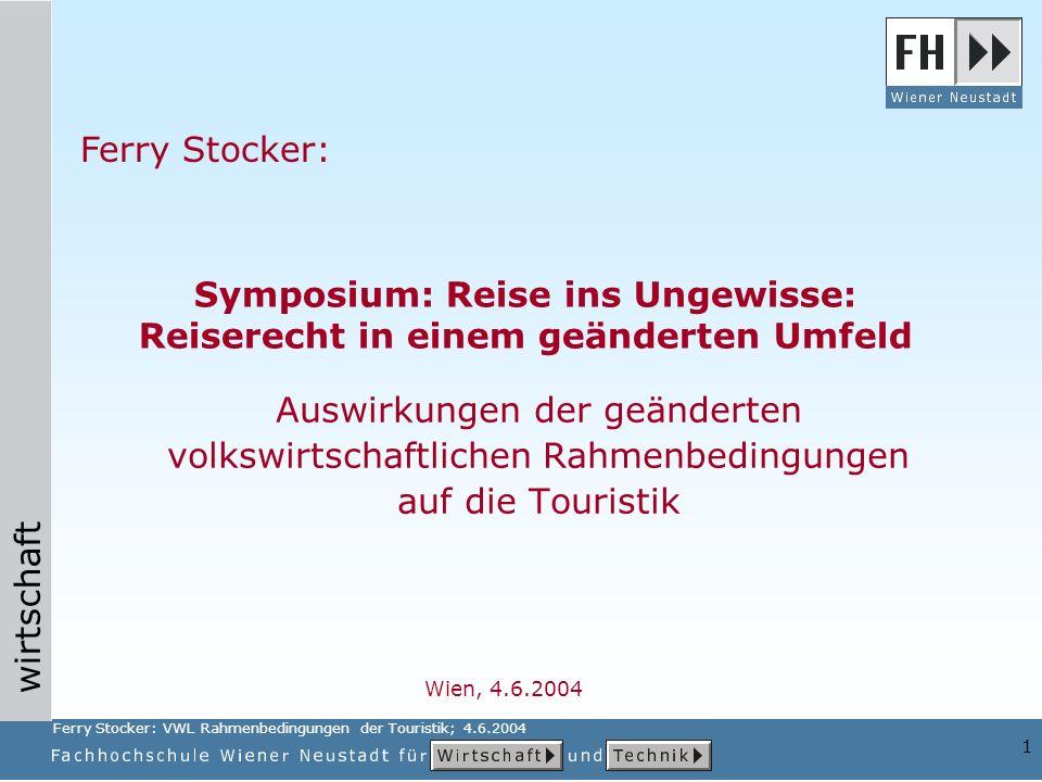 Symposium: Reise ins Ungewisse: Reiserecht in einem geänderten Umfeld