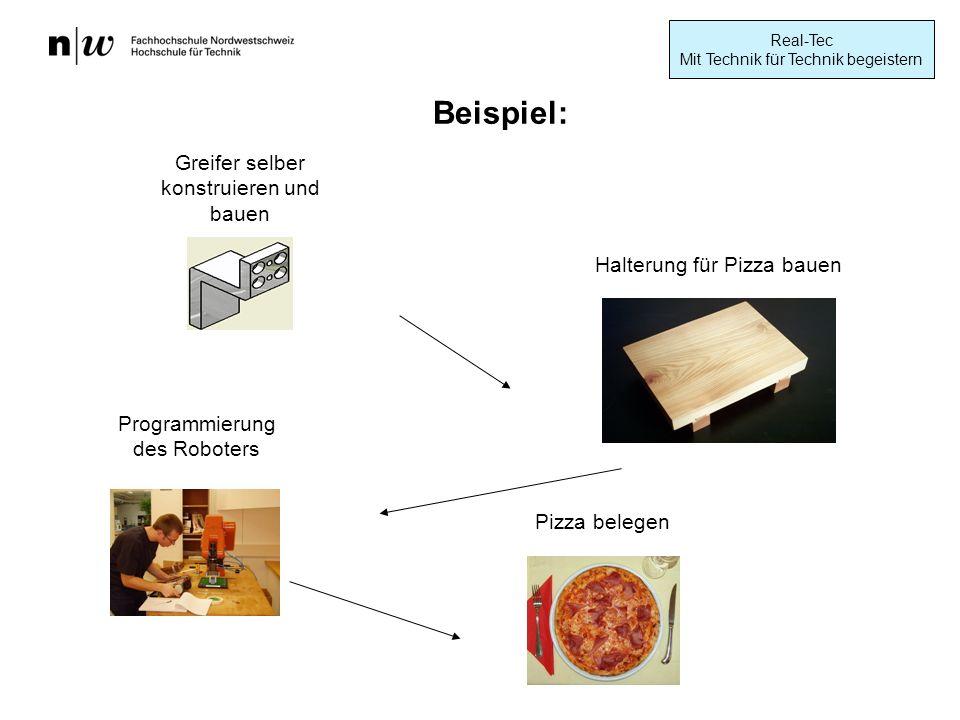 Beispiel: Greifer selber konstruieren und bauen