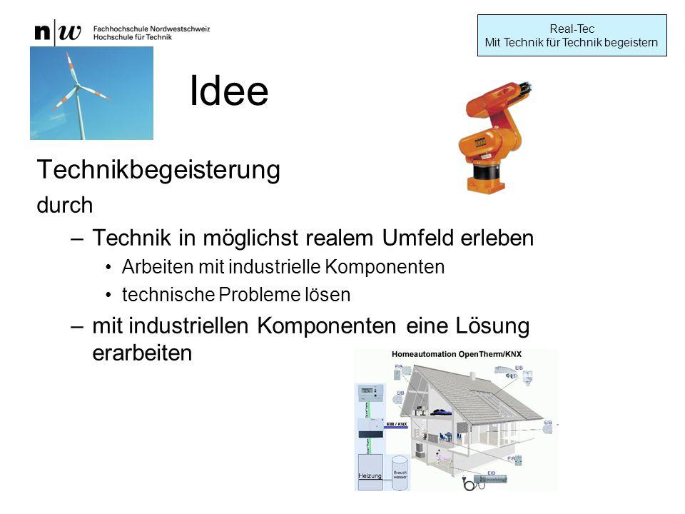 Idee Technikbegeisterung durch