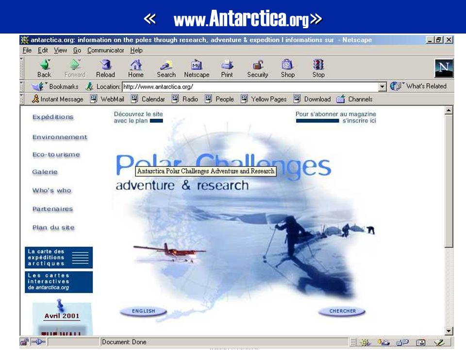 « www.Antarctica.org»