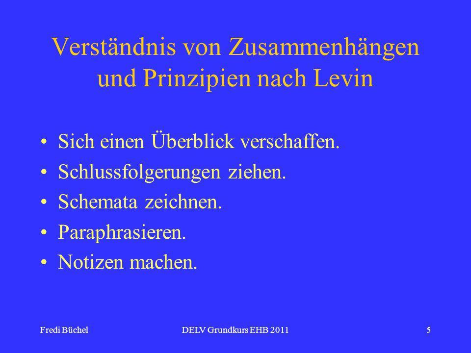 Verständnis von Zusammenhängen und Prinzipien nach Levin