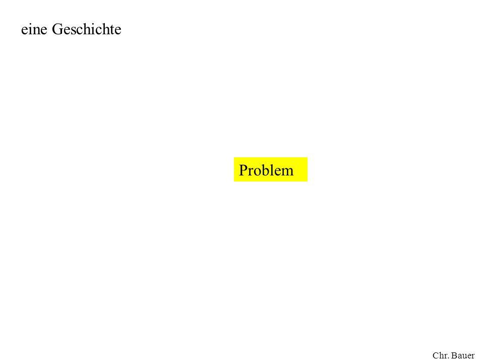 eine Geschichte Problem Chr. Bauer