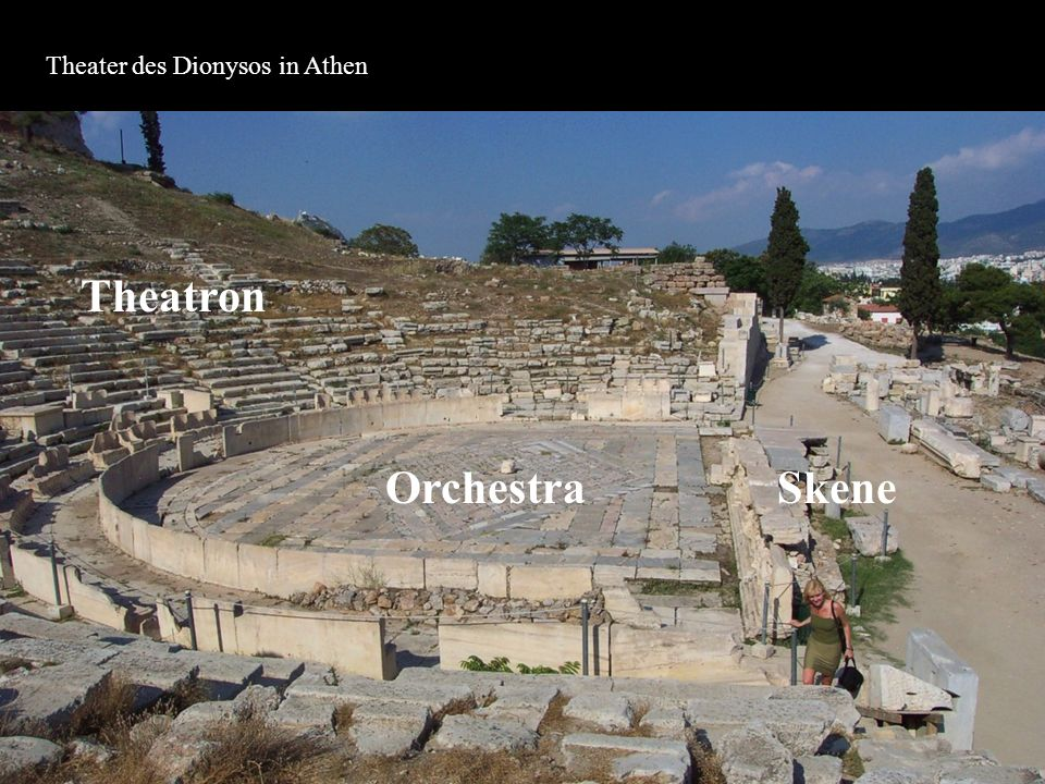 Theater des Dionysos in Athen
