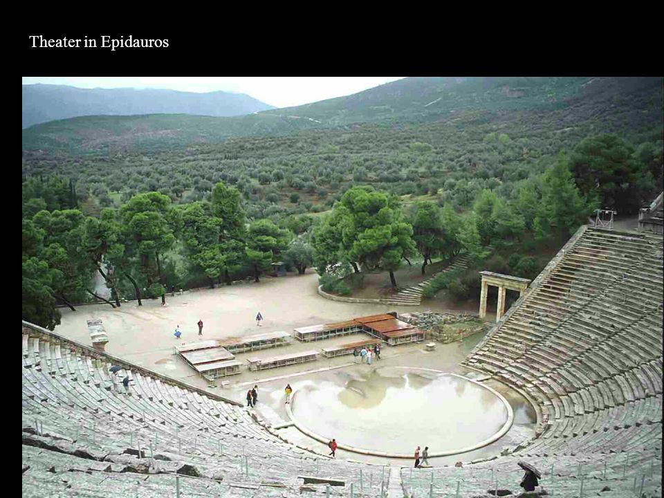 Theater in Epidauros