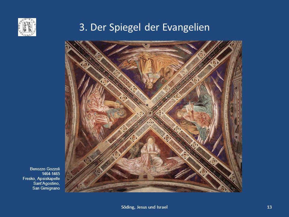 3. Der Spiegel der Evangelien