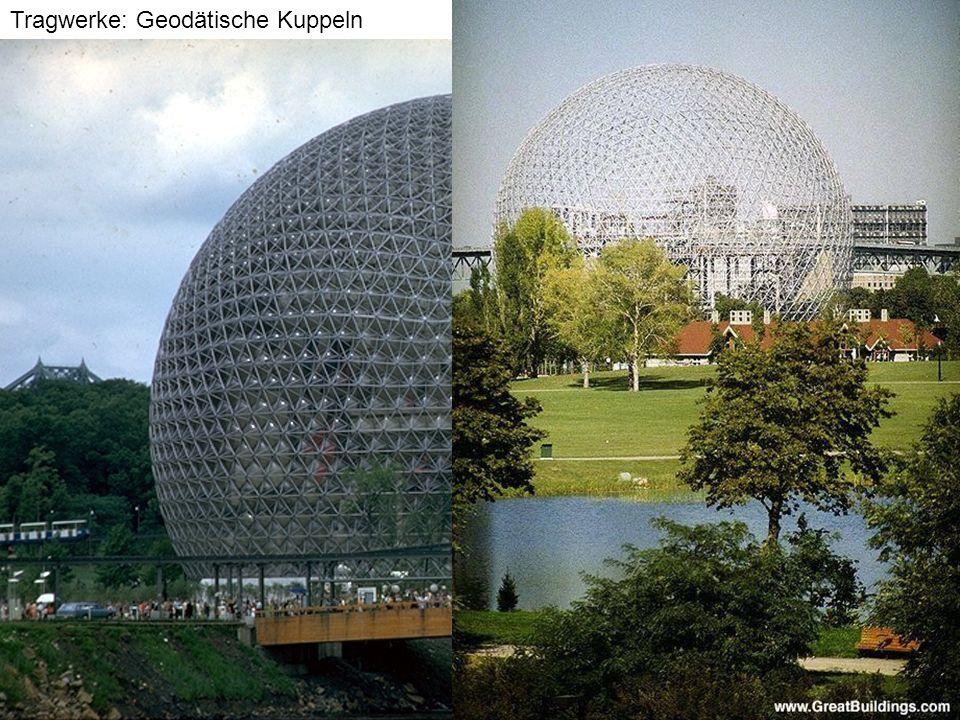 Tragwerke: Geodätische Kuppeln