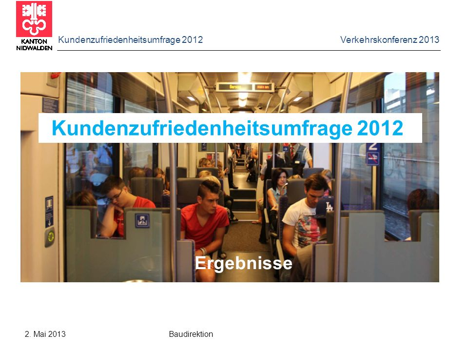 Kundenzufriedenheitsumfrage 2012