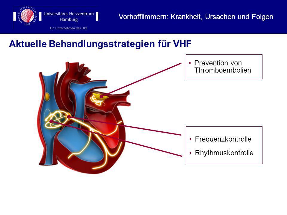 Aktuelle Behandlungsstrategien für VHF