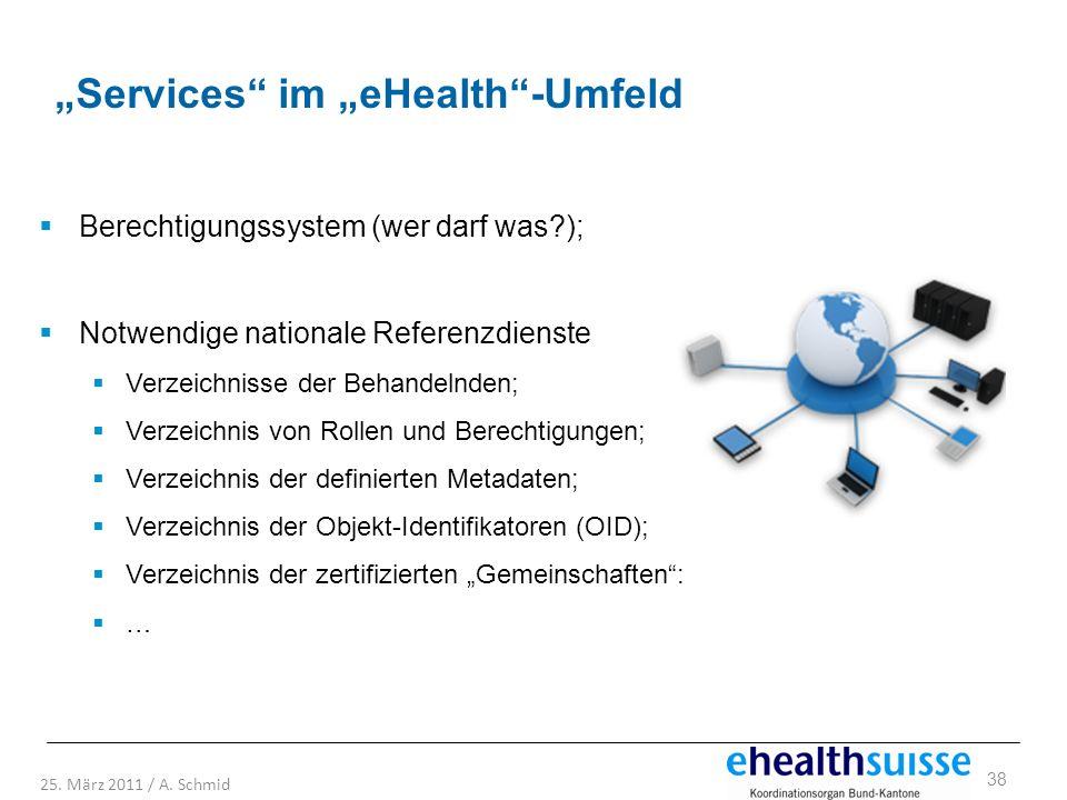 """""""Services im """"eHealth -Umfeld"""