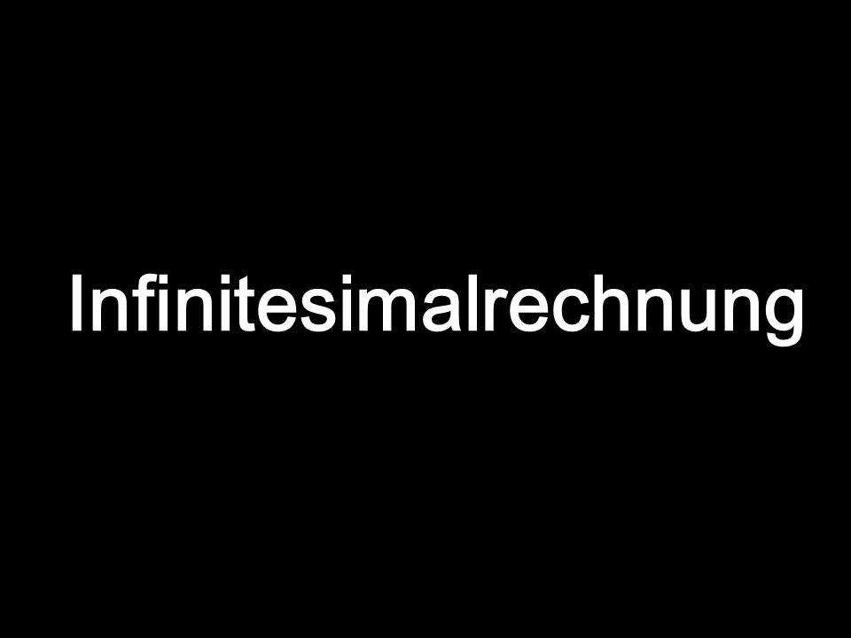 Infinitesimalrechnung