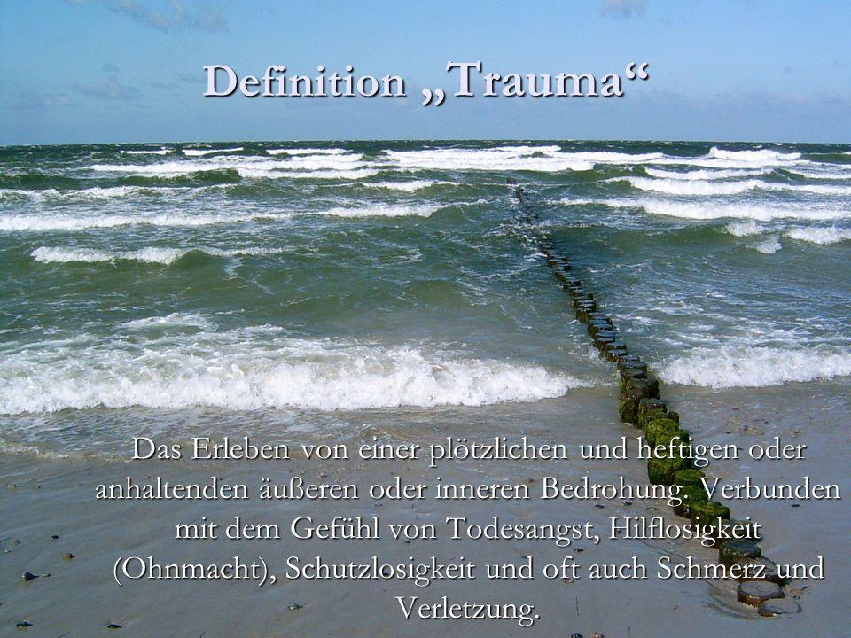 """Definition """"Trauma"""