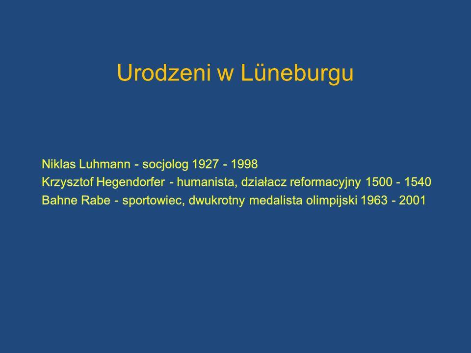 Urodzeni w Lüneburgu Niklas Luhmann - socjolog 1927 - 1998
