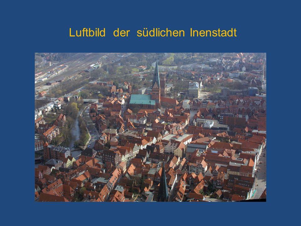 Luftbild der südlichen Inenstadt