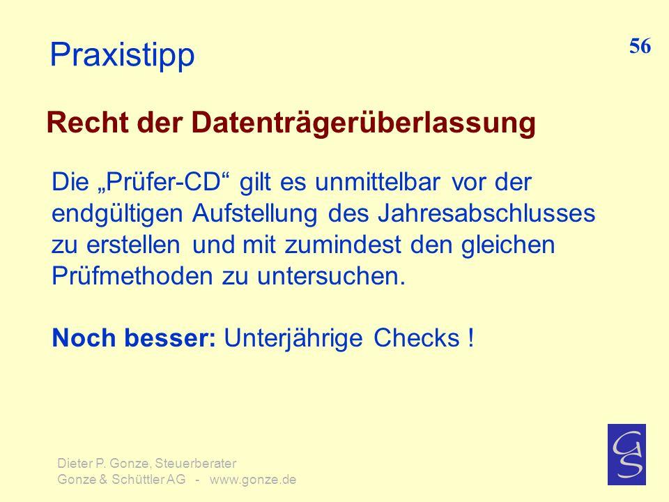 Praxistipp Recht der Datenträgerüberlassung