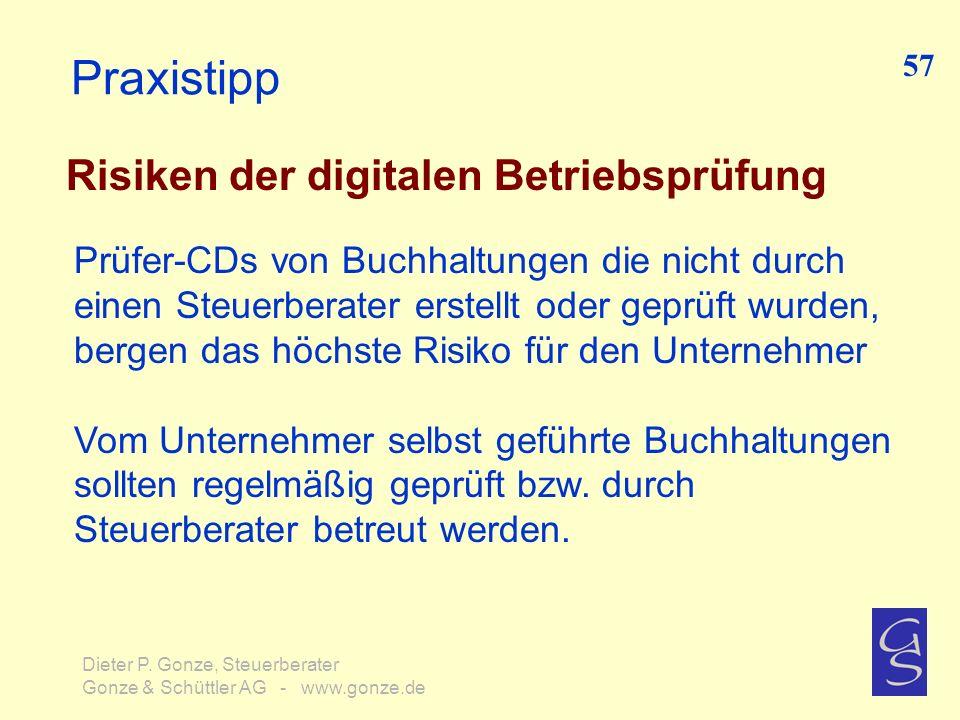 Praxistipp Risiken der digitalen Betriebsprüfung