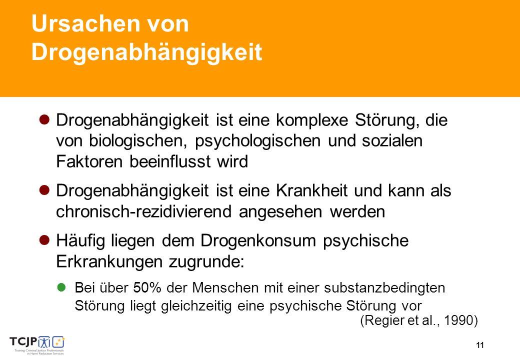Ursachen von Drogenabhängigkeit