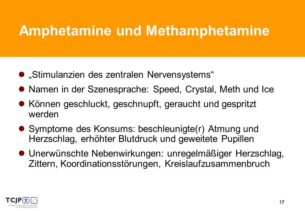 Amphetamine und Methamphetamine
