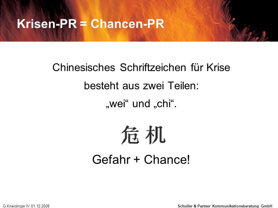 Krisen-PR = Chancen-PR