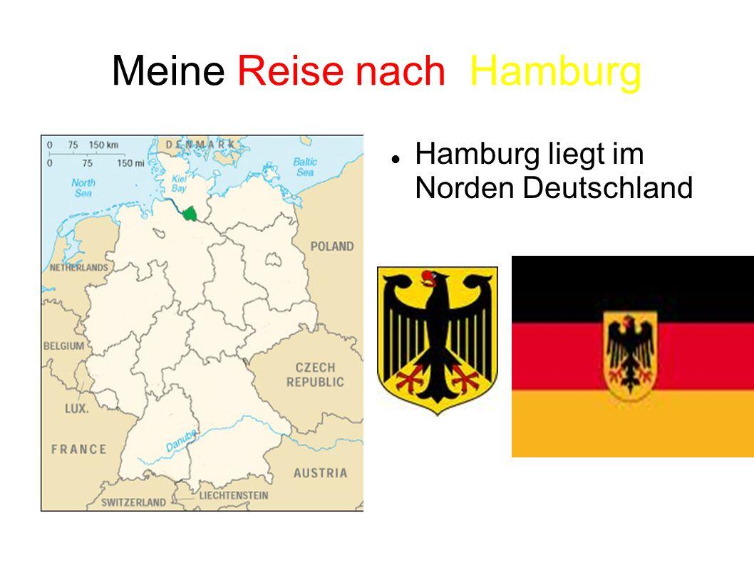 Meine Reise nach Hamburg