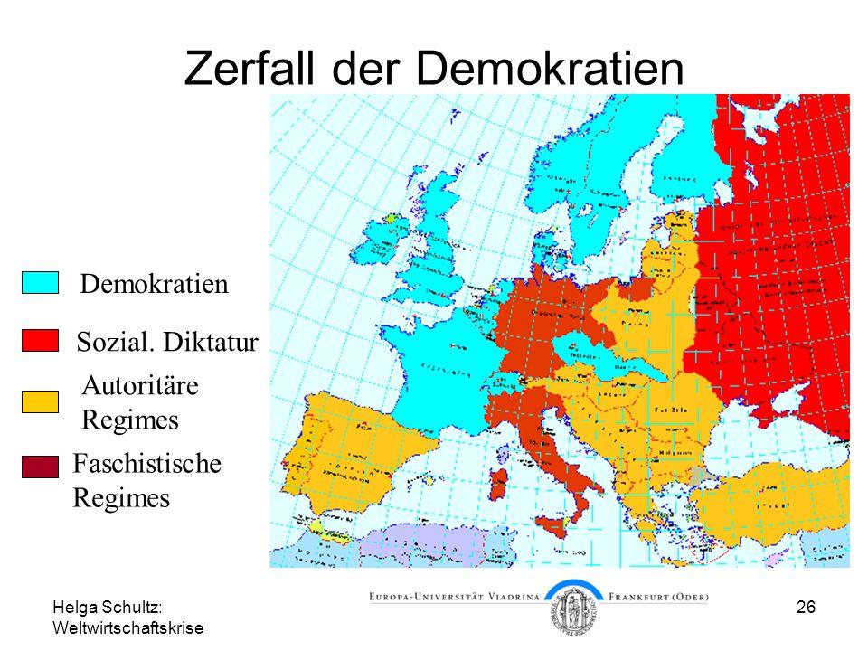 Zerfall der Demokratien