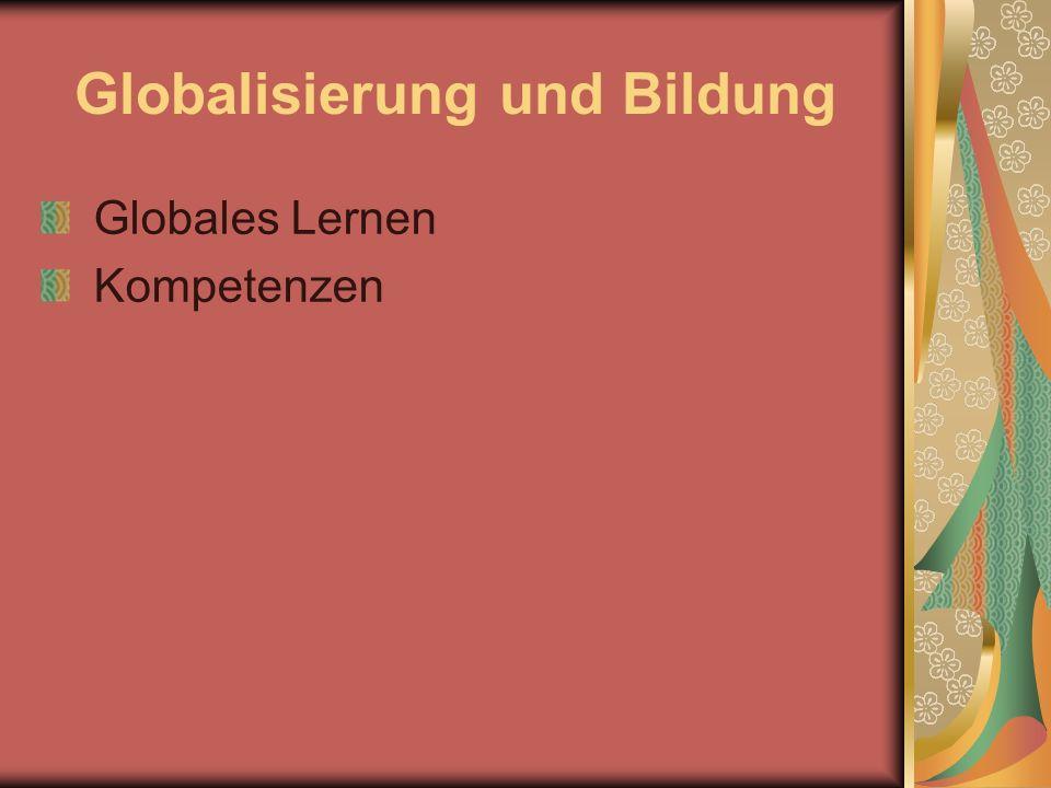Globalisierung und Bildung