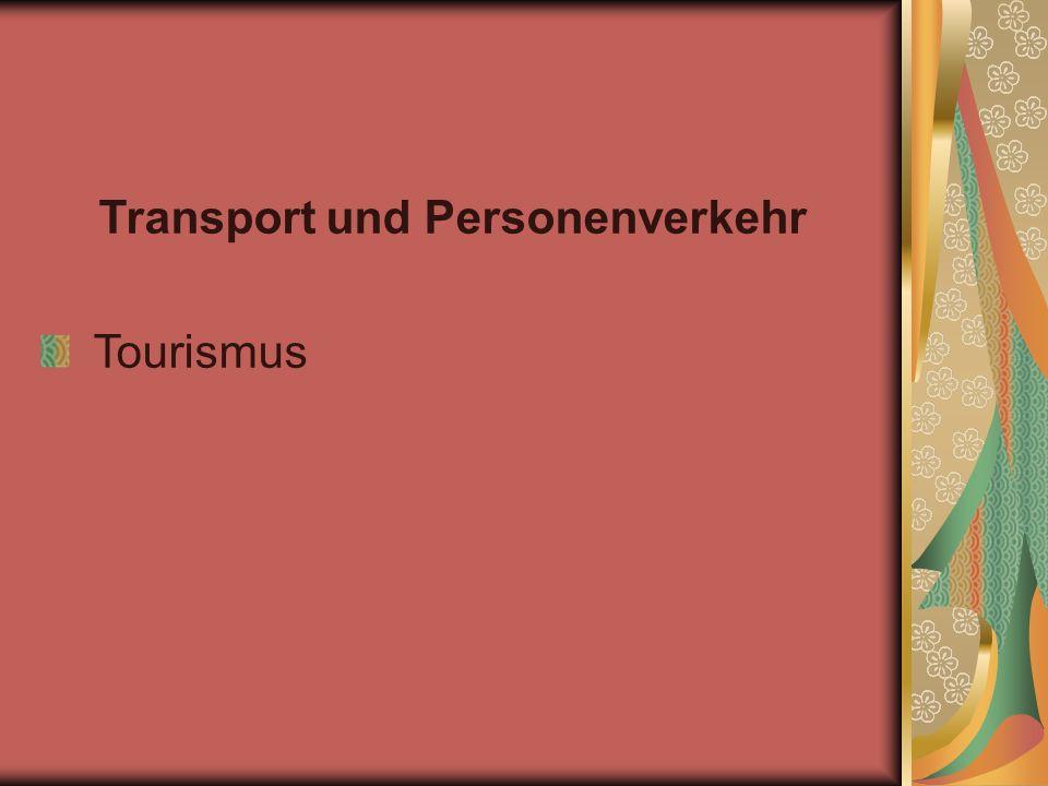 Transport und Personenverkehr