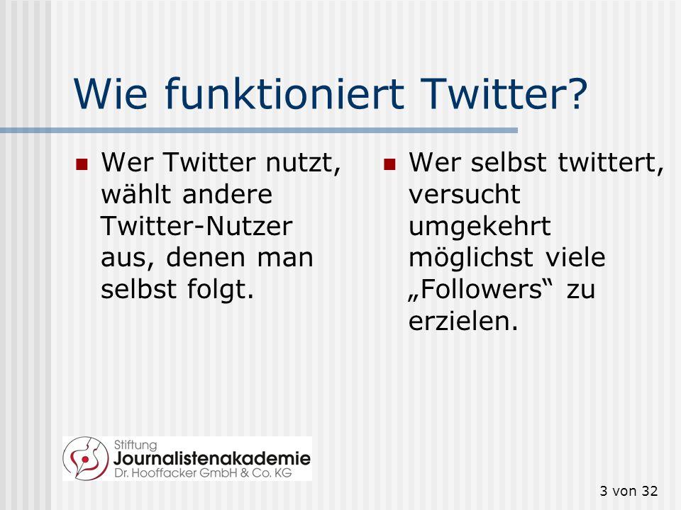 Wie funktioniert Twitter