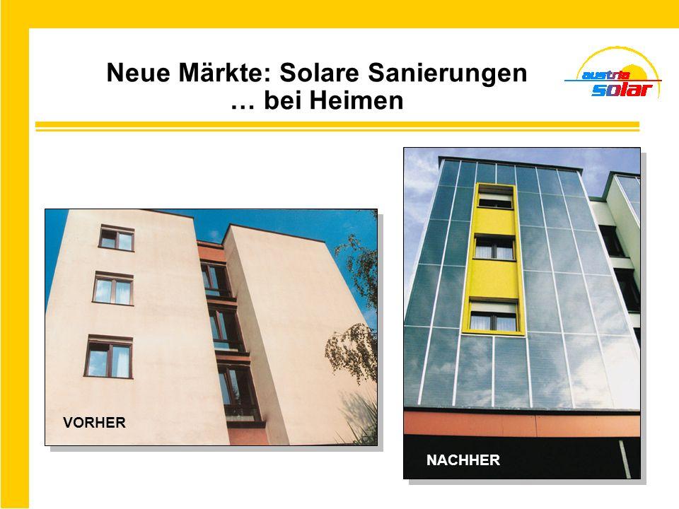 Neue Märkte: Solare Sanierungen … bei Heimen