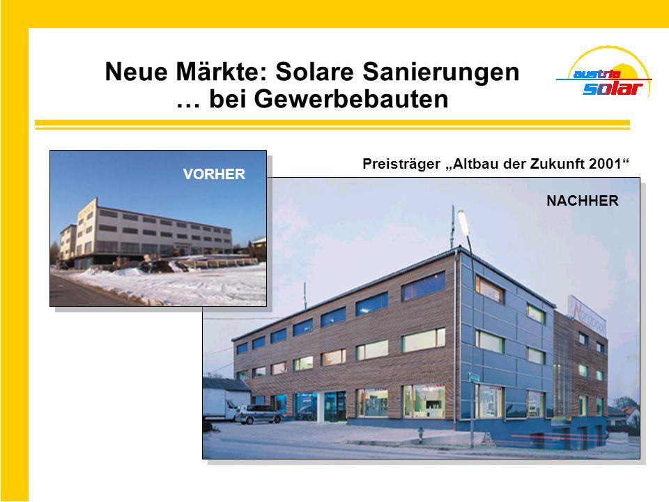 Neue Märkte: Solare Sanierungen … bei Gewerbebauten