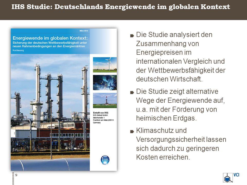 IHS Studie: Deutschlands Energiewende im globalen Kontext