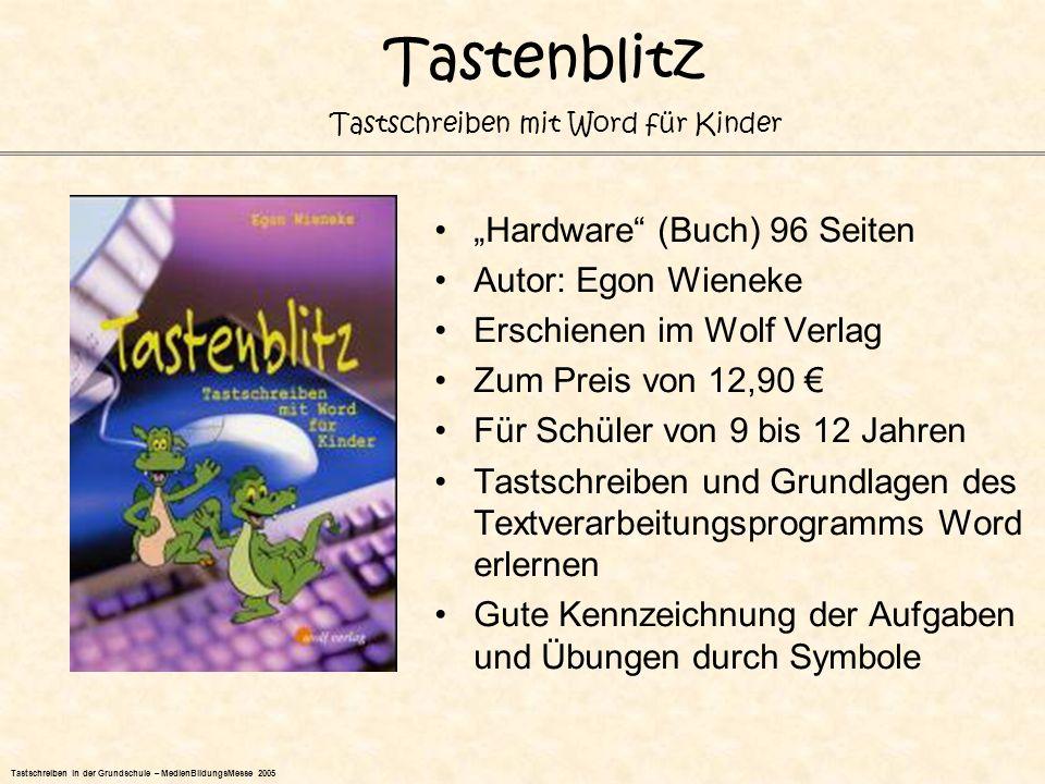 """Tastenblitz """"Hardware (Buch) 96 Seiten Autor: Egon Wieneke"""