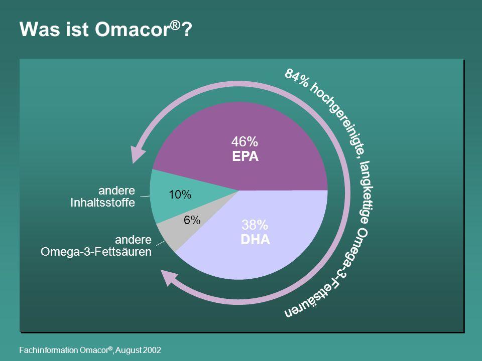 84% hochgereinigte, langkettige Omega-3-Fettsäuren