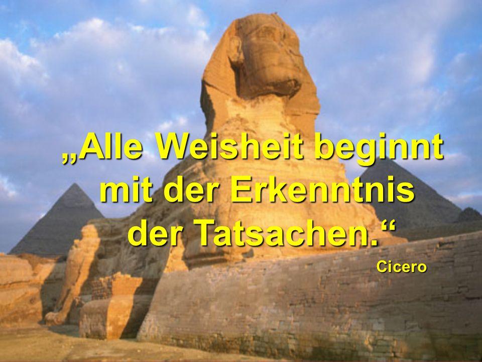 """""""Alle Weisheit beginnt"""