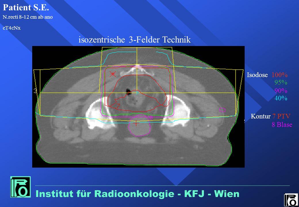 isozentrische 3-Felder Technik