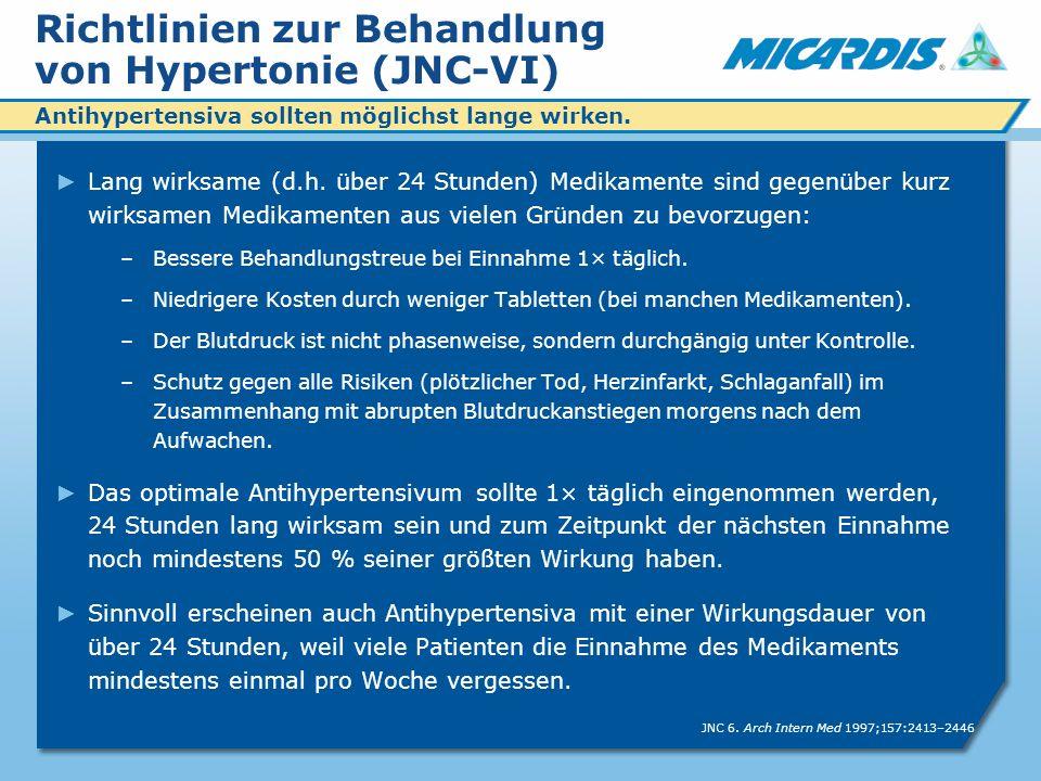 Richtlinien zur Behandlung von Hypertonie (JNC-VI)