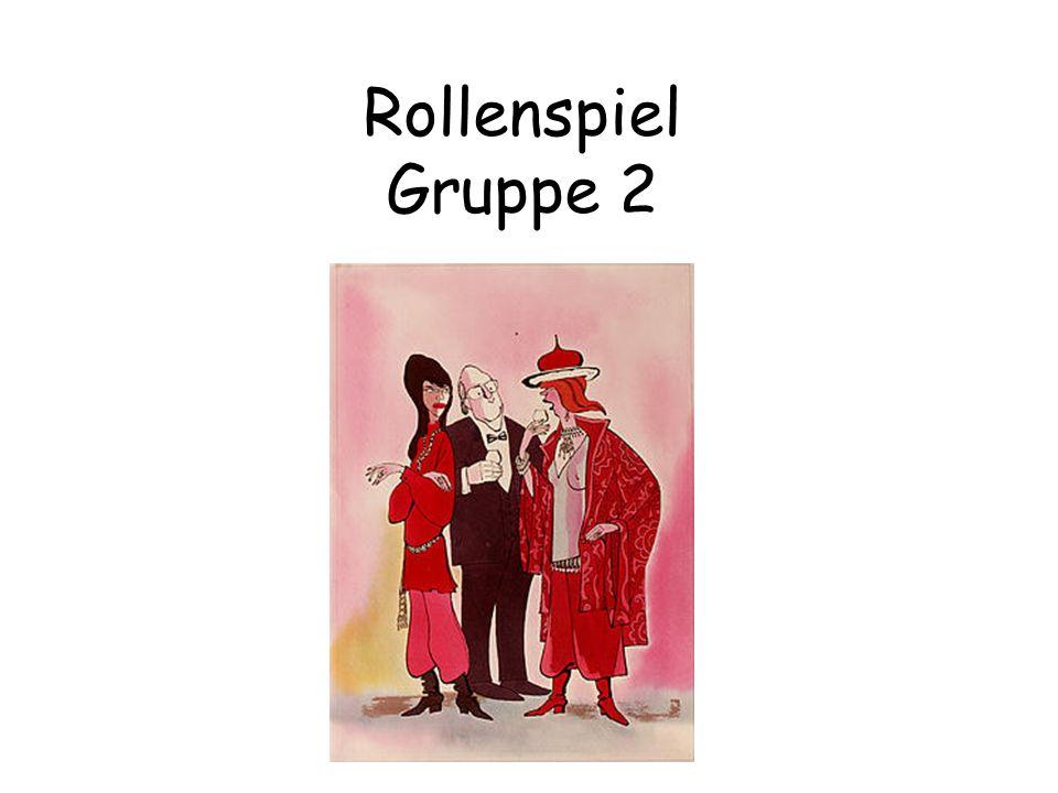 Rollenspiel Gruppe 2 Hilfsregeln der TZI