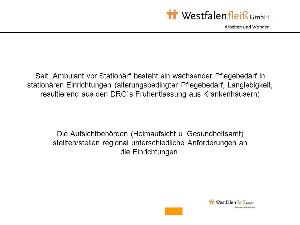 """Rahmenempfehlung """"Behandlungspflege in stationären Einrichtungen der Behindertenhilfe in NRW von Januar 2005"""
