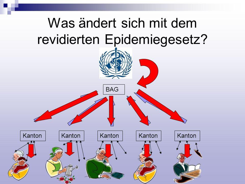 Was ändert sich mit dem revidierten Epidemiegesetz