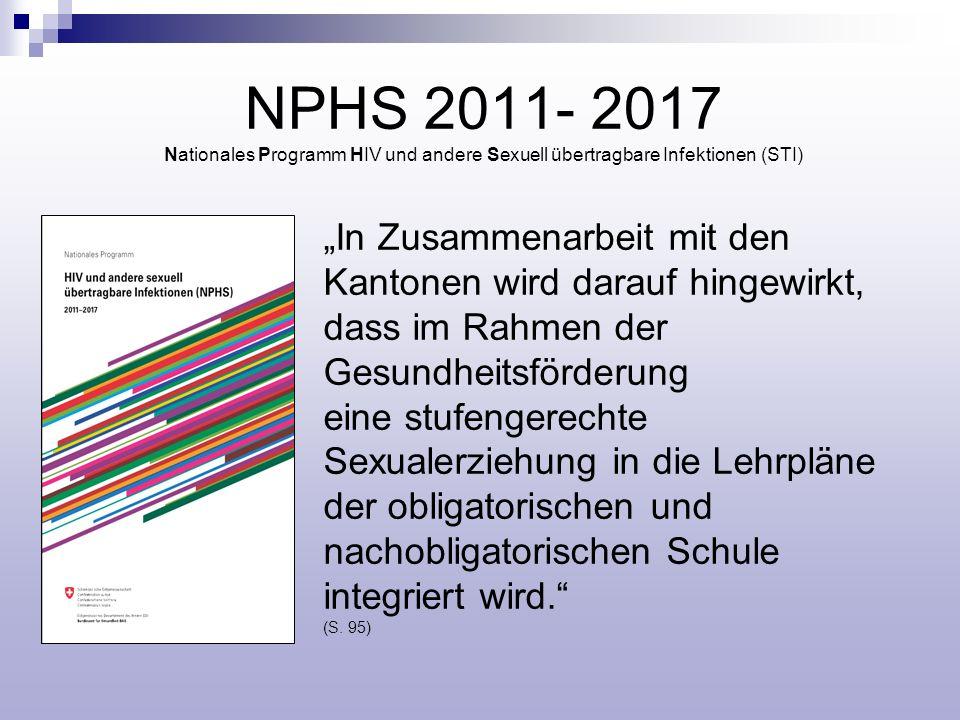 NPHS 2011- 2017 Nationales Programm HIV und andere Sexuell übertragbare Infektionen (STI)