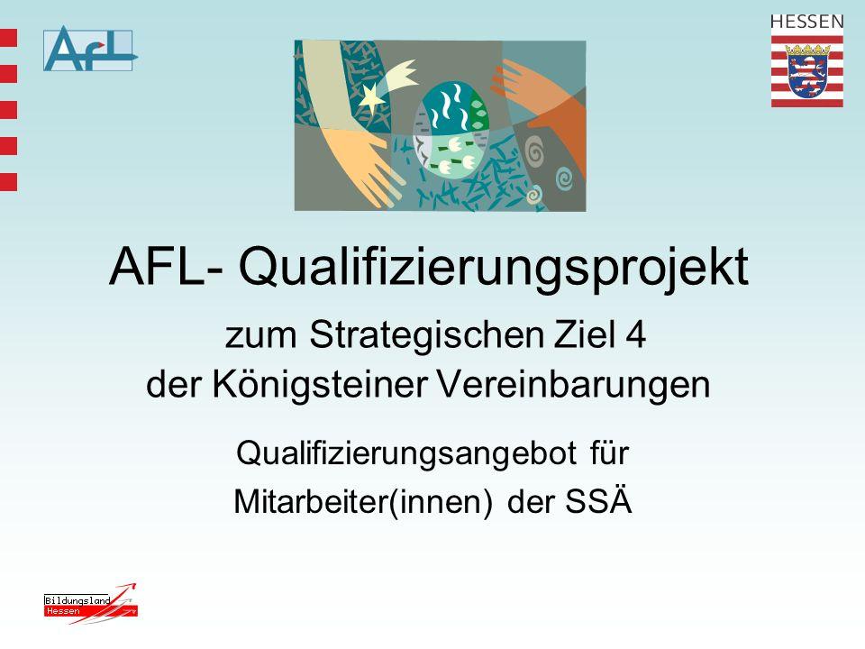 Qualifizierungsangebot für Mitarbeiter(innen) der SSÄ