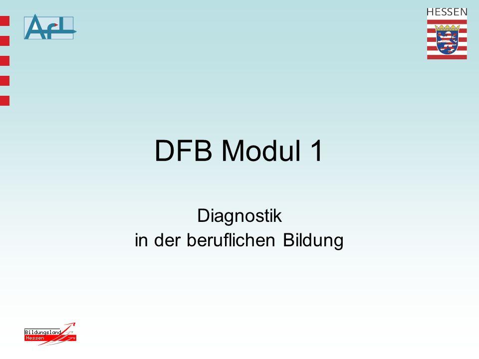 Diagnostik in der beruflichen Bildung