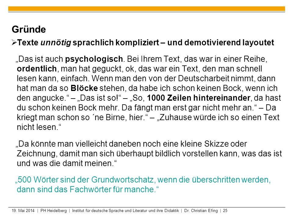 deutsche texte zum lesen