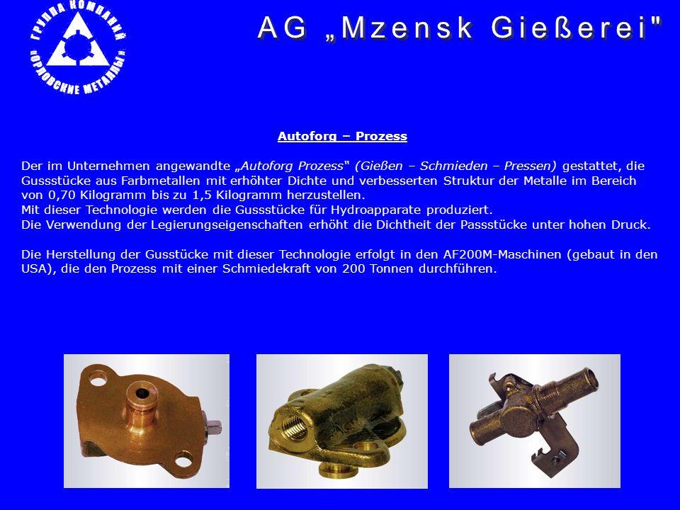 """AG """"Mzensk Gießerei Autoforg – Prozess"""