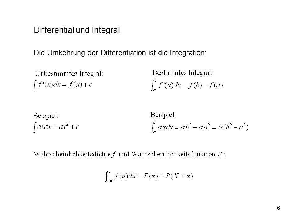 Differential und Integral